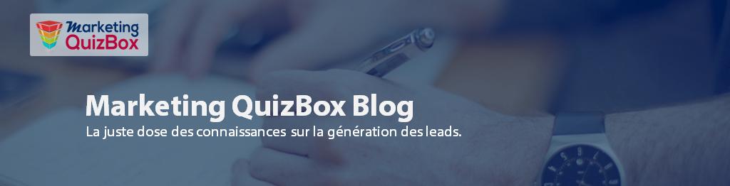 Marketing Quiz Box